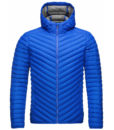 kjus mens down jacket blue