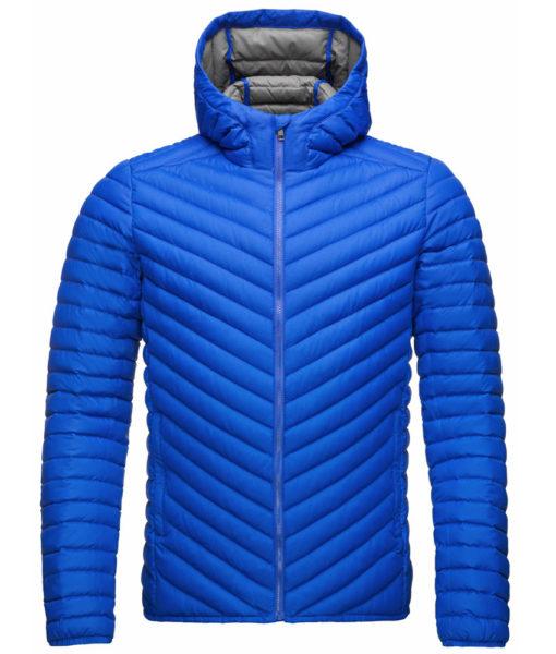 kjus mens down jacket blue