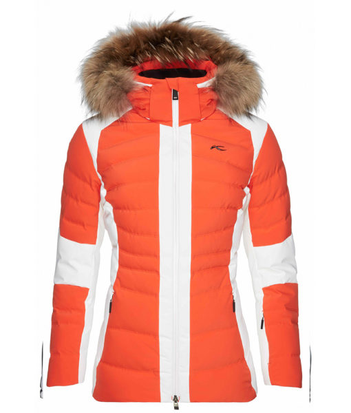 kjus down ski coat duana