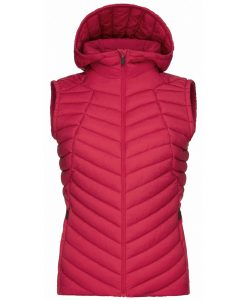 Kjus Ladies Mancuna Ski Vest Red
