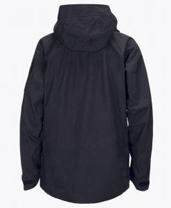 Mens Alpine Peak Performance Ski Jacket Black back