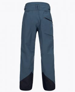 Mens Alpine Peak Performance ski Pant blue back