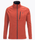Mens Waitara Zip Ski Mid Layer Orange
