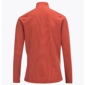Mens-Waitara-Zip-Ski-Mid-Layer-Orange-Back