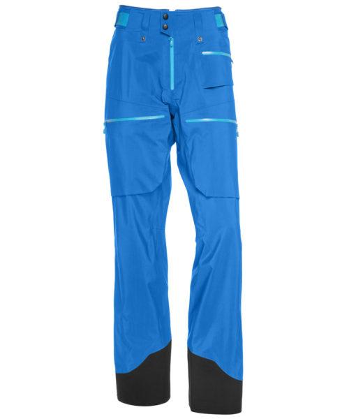 Norrona gore-tex pro light ski pant blue
