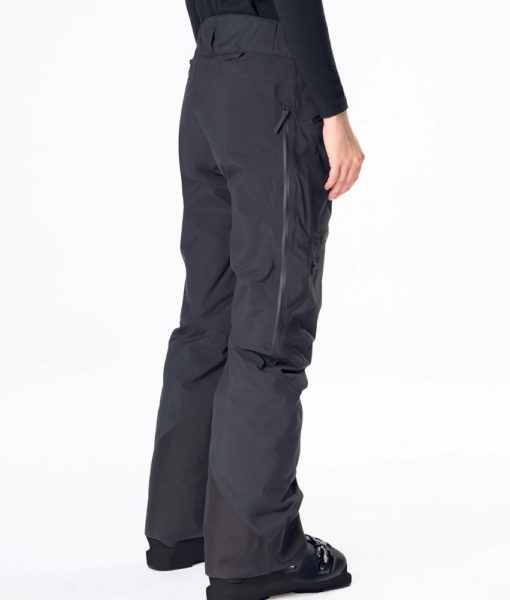 Women Teton 2L Peak Performance Black Ski Pant