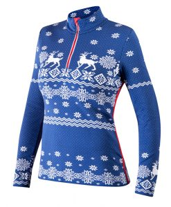 Newland Women's Abondance 1/2 Zip Ski Sweater
