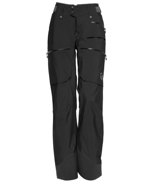 womens Lofted Gore Tex Pro Light ski Pants