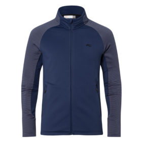 Kjus Mens Downforce Midlayer Blue