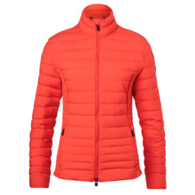 Kjus Womens Macuna Insulated ski Jacket red