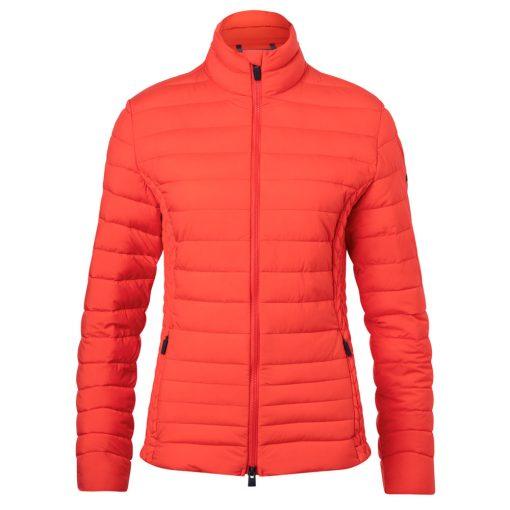 Kjus Womens Macuna Insulated ski Jacket red
