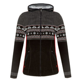 Newland Womens Cressida Hooded ski sweater