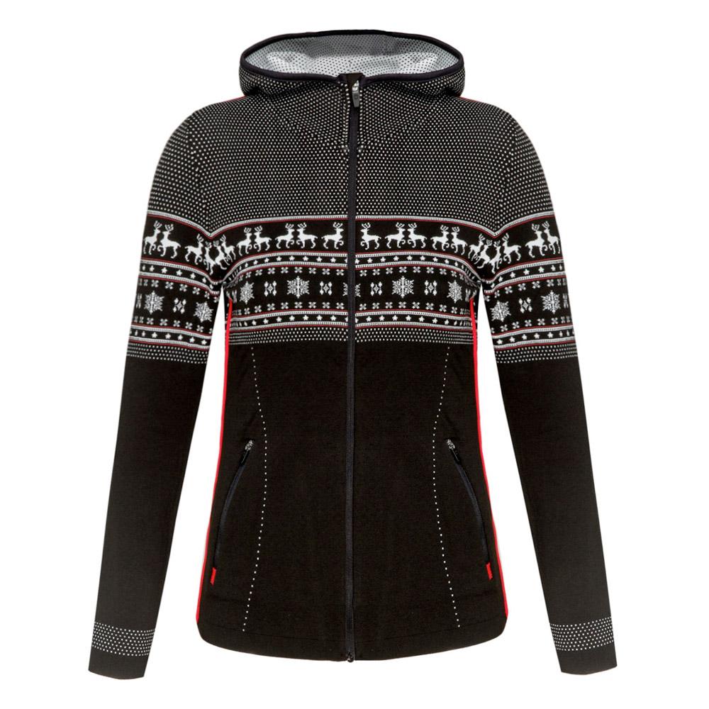 Newland Women s Cressida Hooded Ski Sweater Hamilton Sports Aspen b5138a988
