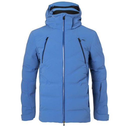 downforce kjus mens ski jacket blue