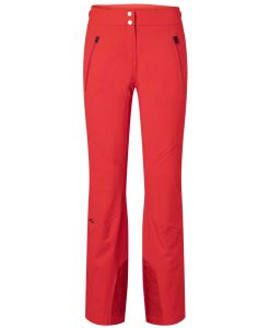 kjus womens ski pants formula red