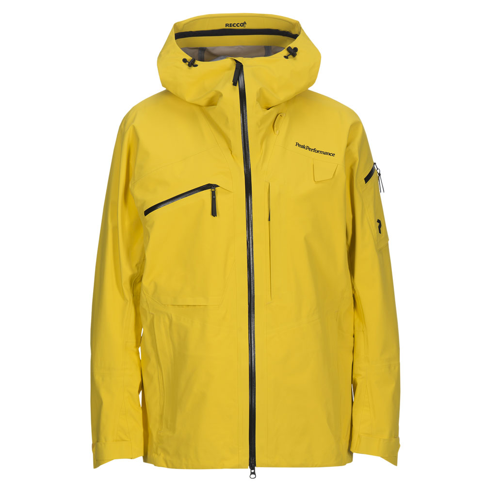 cheap for discount c8a27 373f5 Peak-Performance-ski-jacket-alpine-yellow - Aspen Ski Shop ...
