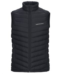 Peak Performance ski vest frost black