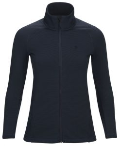 Peak Performance womens midlayer waitara blue