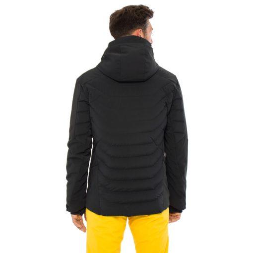 kjus mens black ski jacket sightline