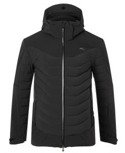 kjus sightline mens black ski jacket