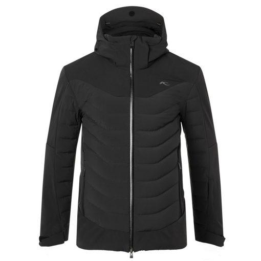 kjus sightline mens black ski jacket