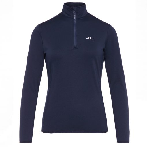 J lindeberg Kimbell black baselayer