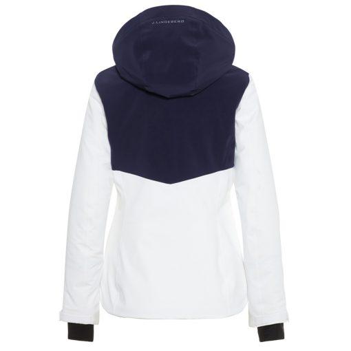 J lindeberg gab womens ski jacket white