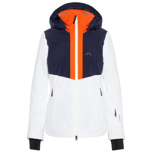 J lindeberg gab womens white ski jacket