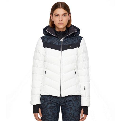 J lindeberg russel womens down ski coat