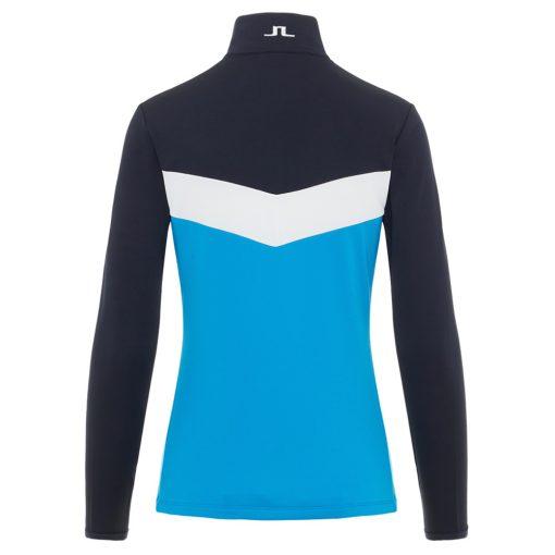 J lindeberg russel womens fleece blue