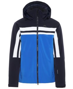 JL Mens Hayes Blue Ski Coat