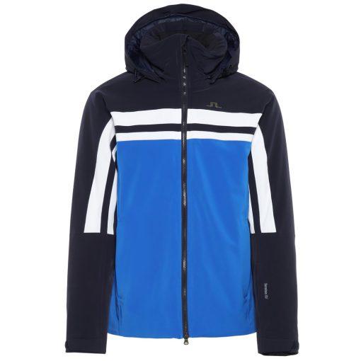 JL Mens Hayes Blue Ski Coat