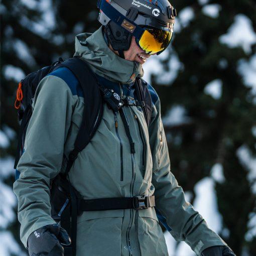 Norrona Mens Down 750 ski coat