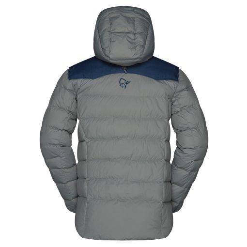 Norrona Mens Down 750 ski jacket grey