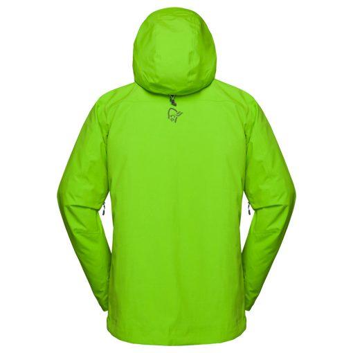 Norrona Mens Lofoten Green Ski Jacket
