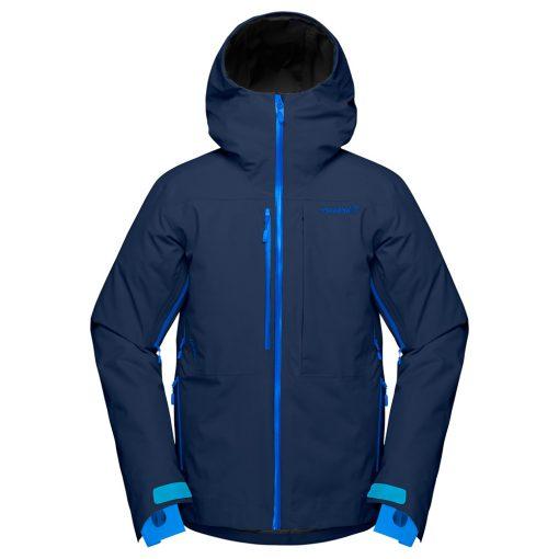 Norrona Mens Lofoten Ski Jacket Blue