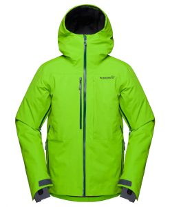 Norrona Mens Lofoten Ski Jacket Green