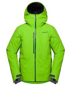 Norrona Mens Lofoten Ski Jacket Green