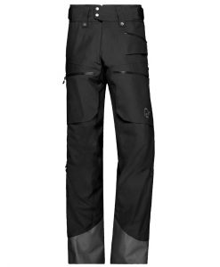 Norrona Mens Lofoten insulated ski pant black