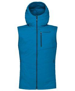 Norrona Mens Lyngen Alpha ski vest blue