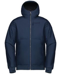 Norrona Mens Roldal Ski Jacket Blue