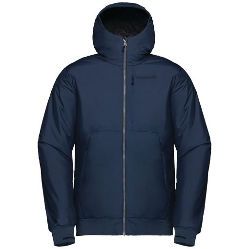 Norrona Mens Roldal Ski Jacket Blue