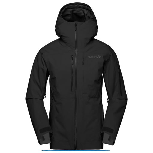 Norrona Womens Lofoten Black Ski Jacket