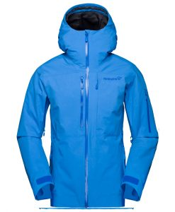 Norrona Womens Lofoten Blue Ski Jacket