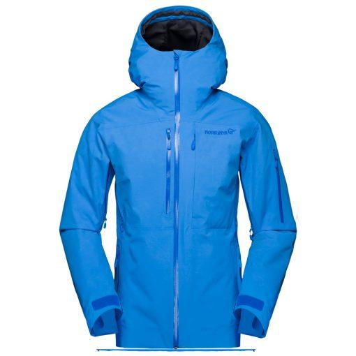 Norrona Womens Lofoten Blue Ski Jacket