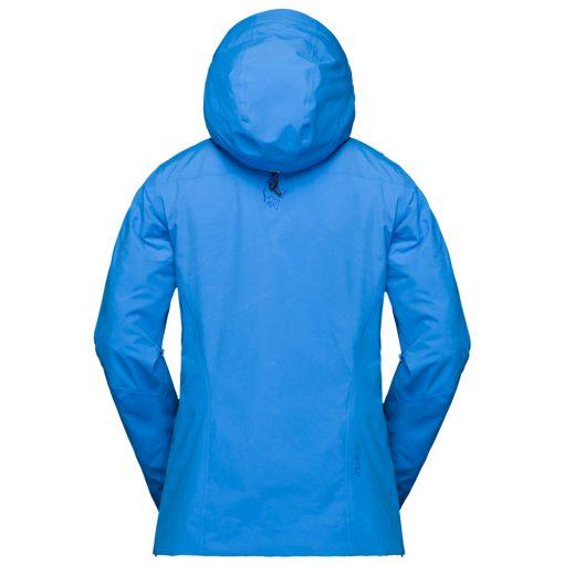 Norrona Womens Lofoten Ski Jacket Blue