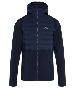 j lindeberg vertex mens ski jacket blue