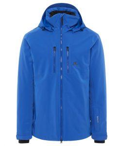 j lindeberg watson mens blue ski jacket