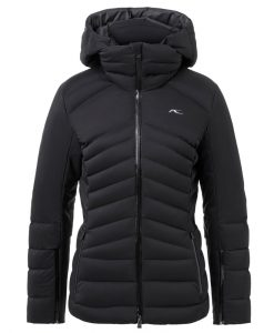 kjus duana black womens ski jacket