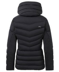 kjus duana womens black ski jacket